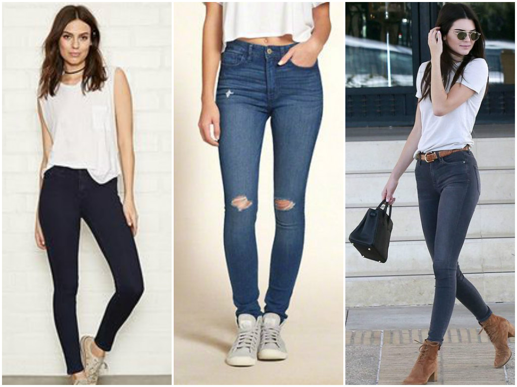 High rise pants to hide belly fat
