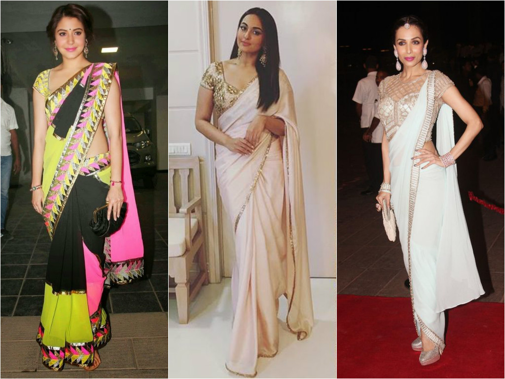 How to choose perfect saree for your body shape forecast