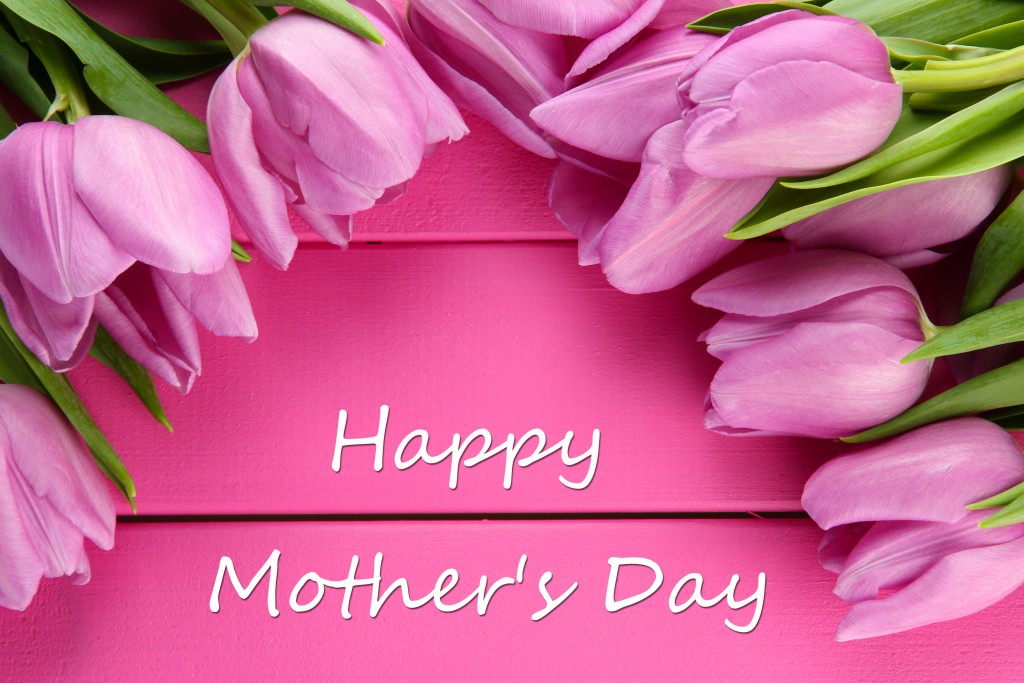 I wanted to wish all the mothers out there a really Happy Mother's Day