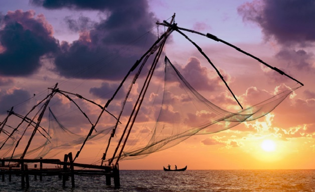 Kochi, Chinese Fishing nets, Princess Street,