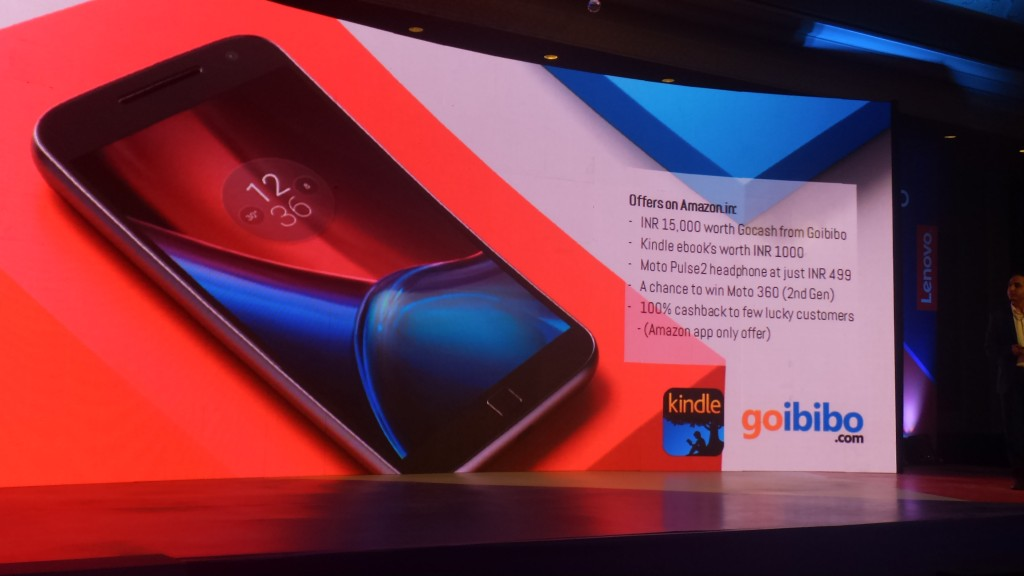 Moto g4 Plus Offers On Amazon