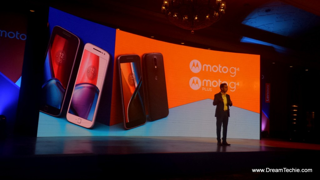 Motorola g4 and G 4 Plus Launch
