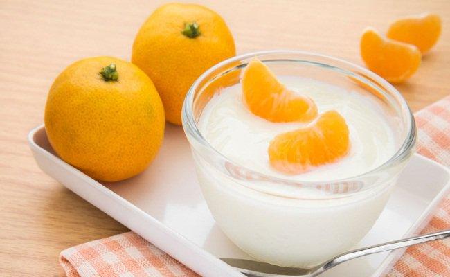 Orange-And-Yogurt suntan removal pack
