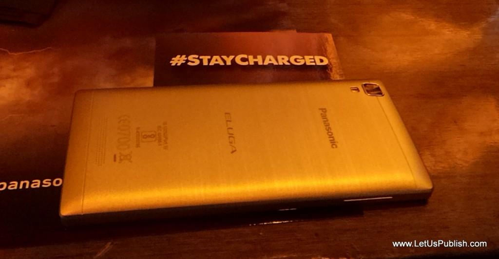 Panasonic Eluga A2 Golden Color