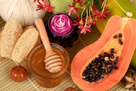 Papaya honey suntan removal pack
