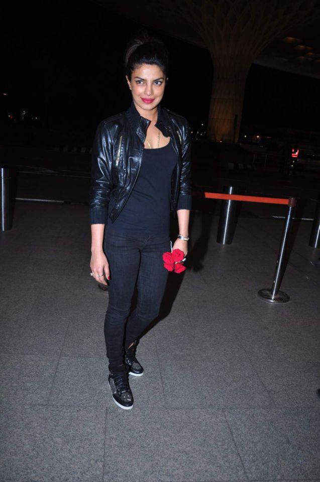 Priyanka Chopra Airport Styles