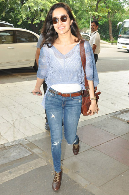 Shardha Kapoor casual look