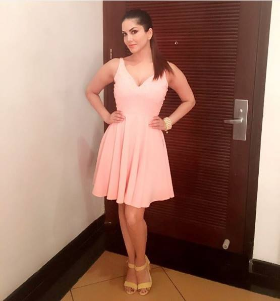 Sunny Leone photos in dresses