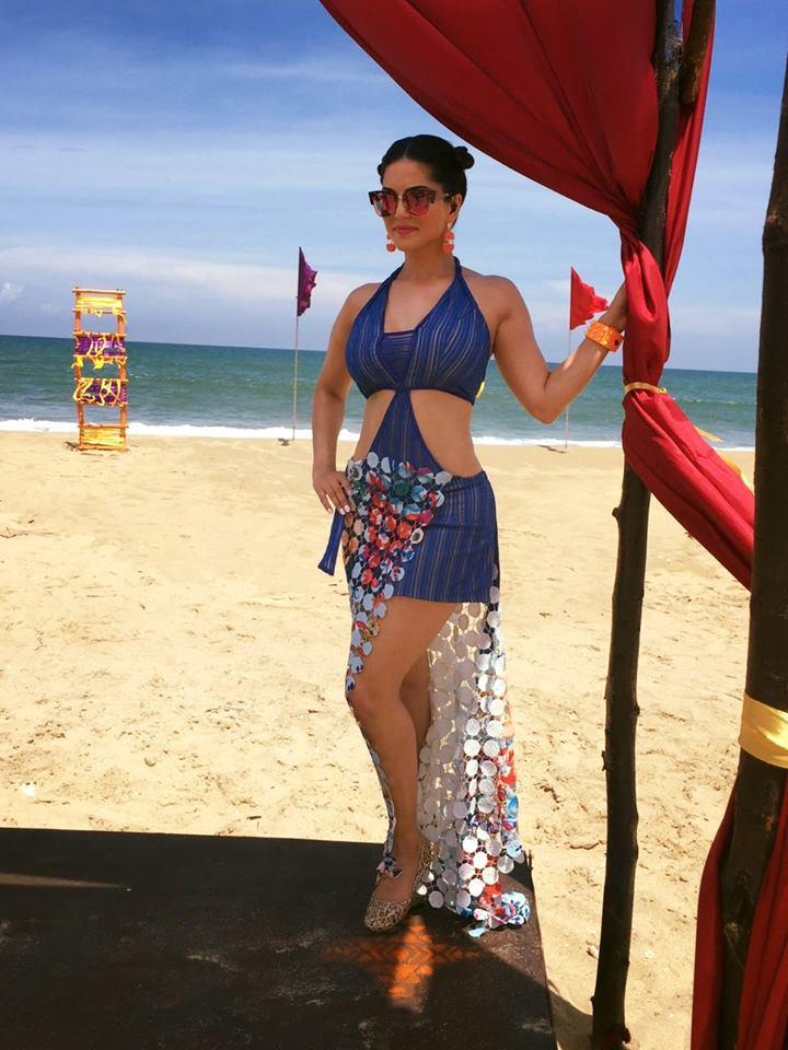 Sunny Leone in MTV Splitsvilla 9