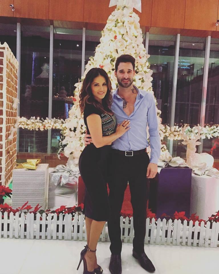 Sunny Leone With Husband Daniel Weber Photo