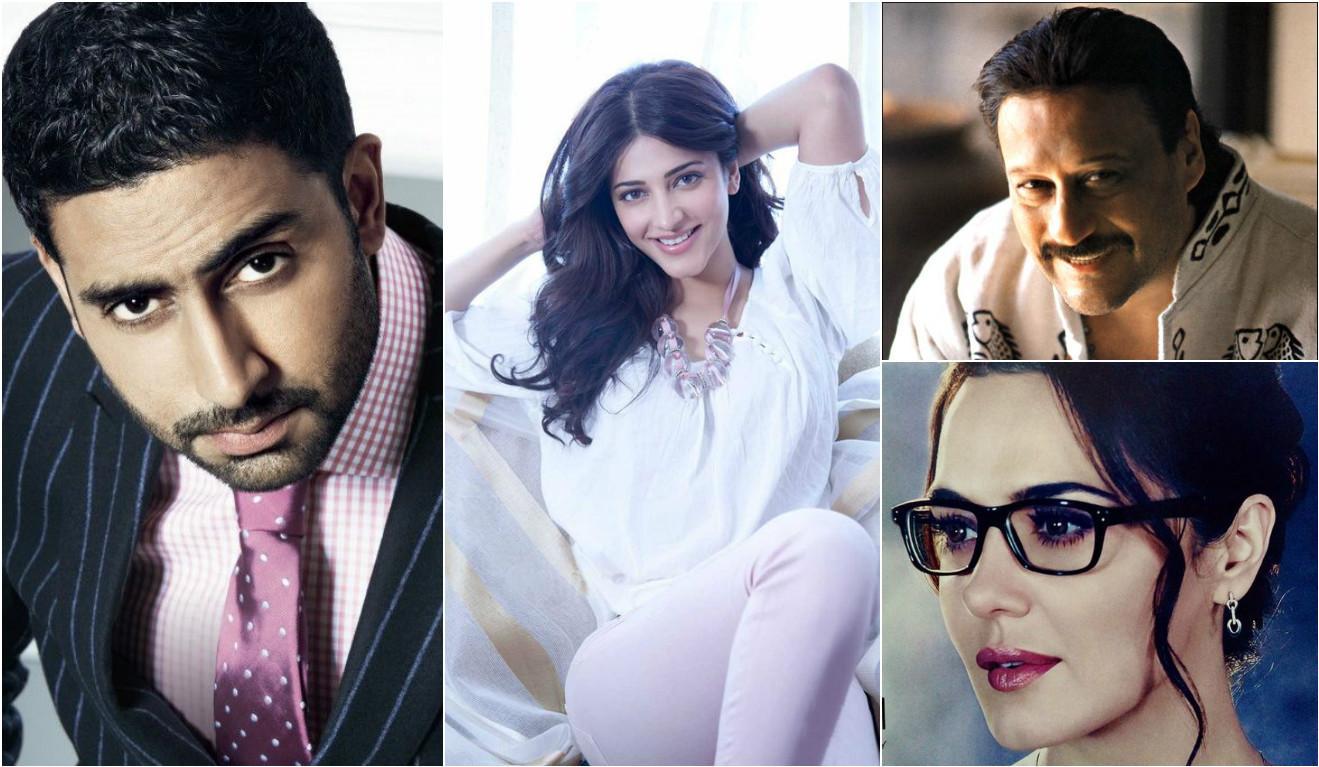 Aquarius bollywood celebs - Abhishek Bachchan, Jackie Shrof,Preity Zinta, Shruti Haasan
