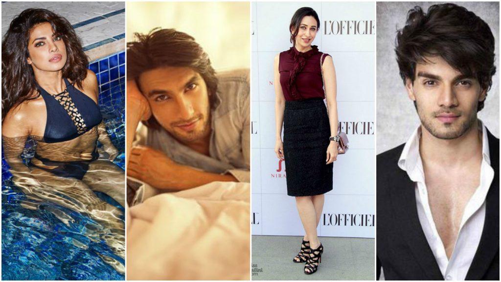 Arjun Kapoor, Sooraj Pancholi, Naseeruddin Shah , Priyanka Chopra , Katrina Kaif Cancer Zodiac Sign