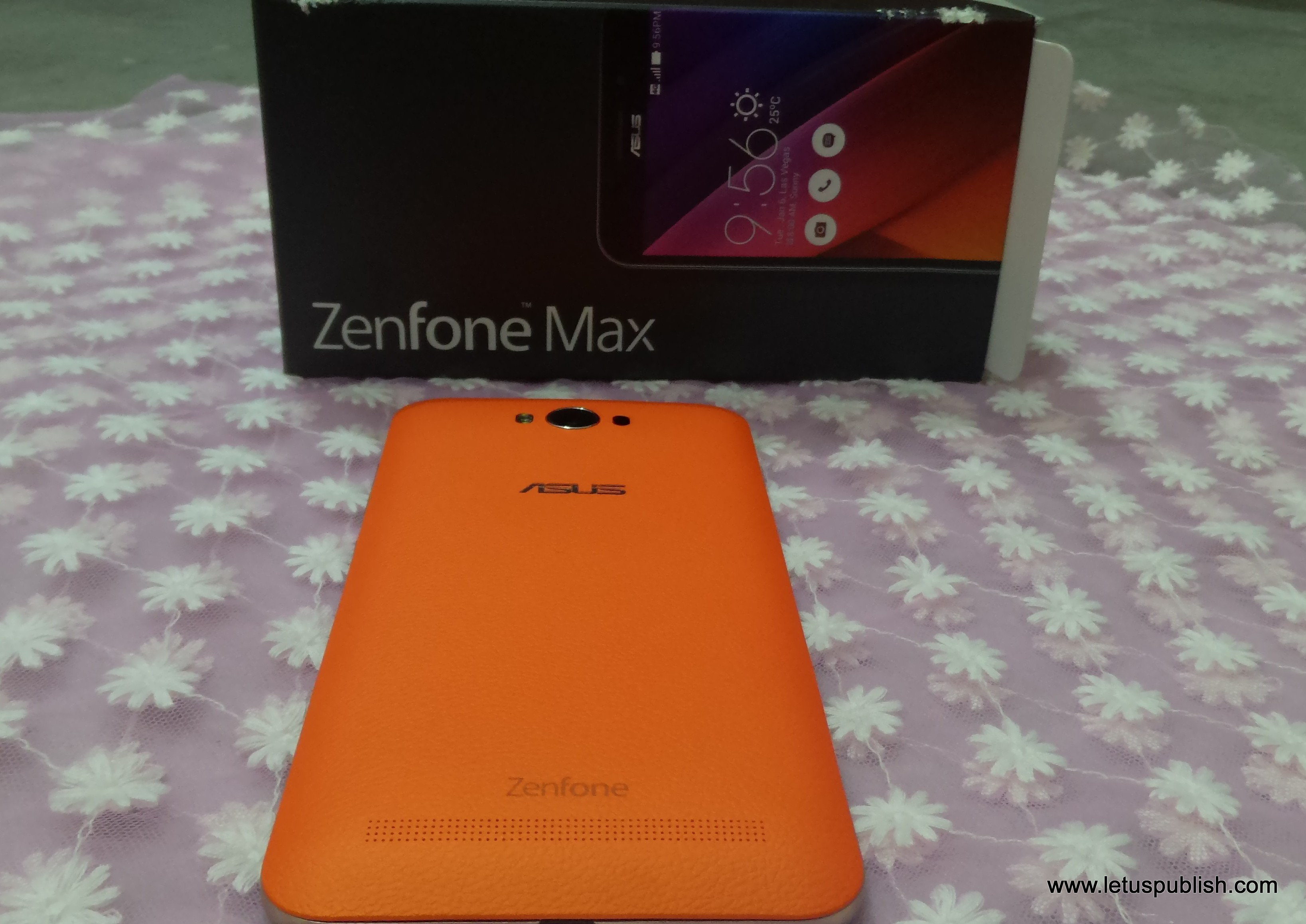 Asus zenfone Max back cover design