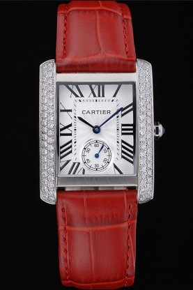 Cartier's women's Red Step Watch