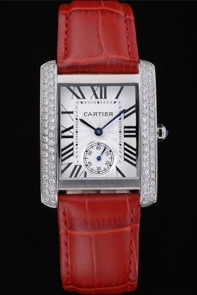 Cartier's women's Red Step Watch