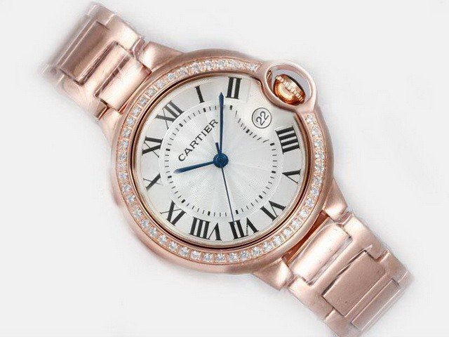 Cartier's women's jewel watches