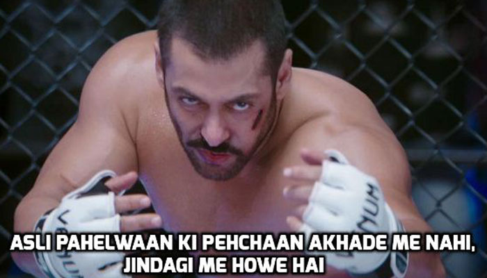 Five reasons to watch Sultan- dialgoue delivery