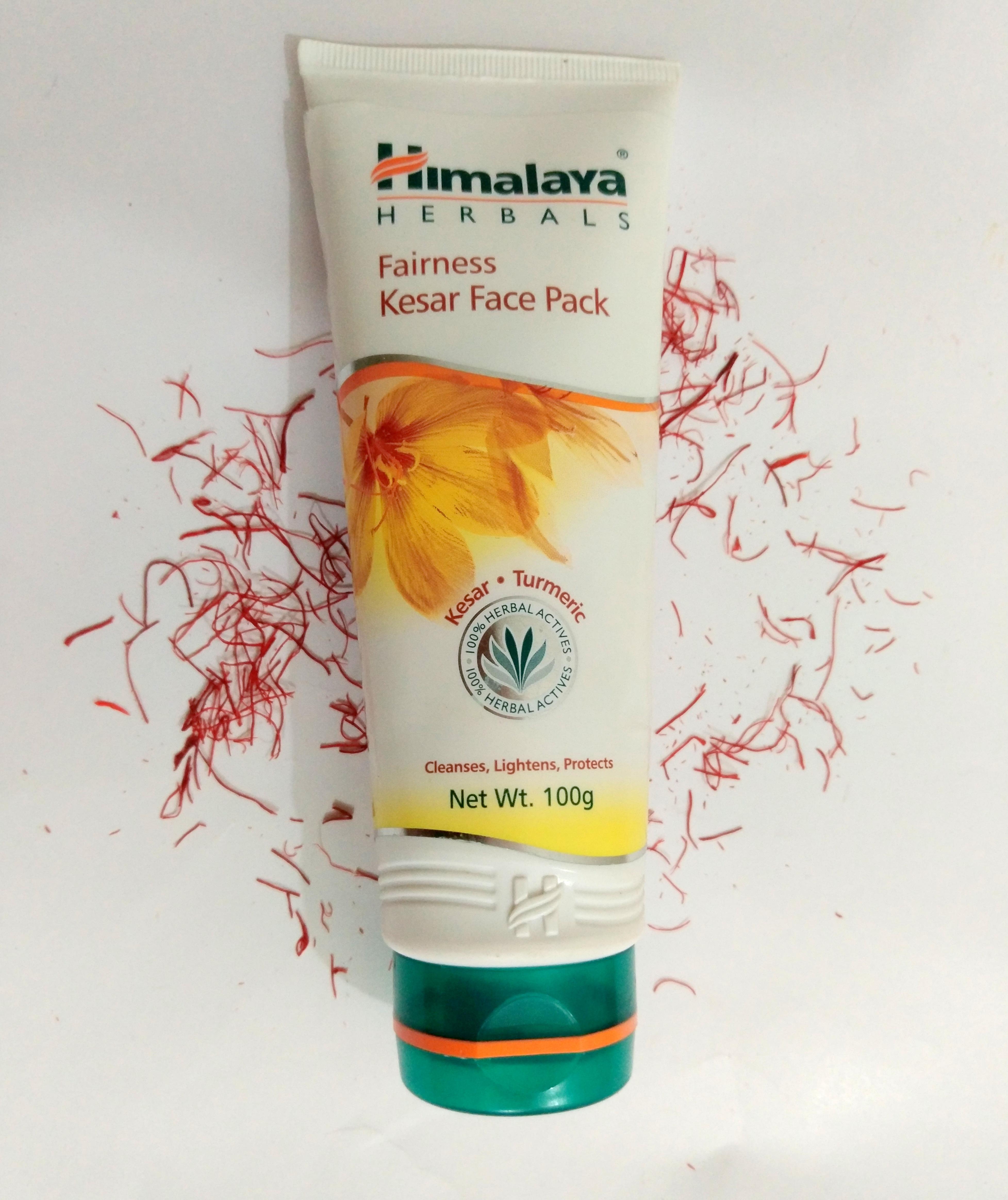 Himalaya Fairness Kesar Face Packe