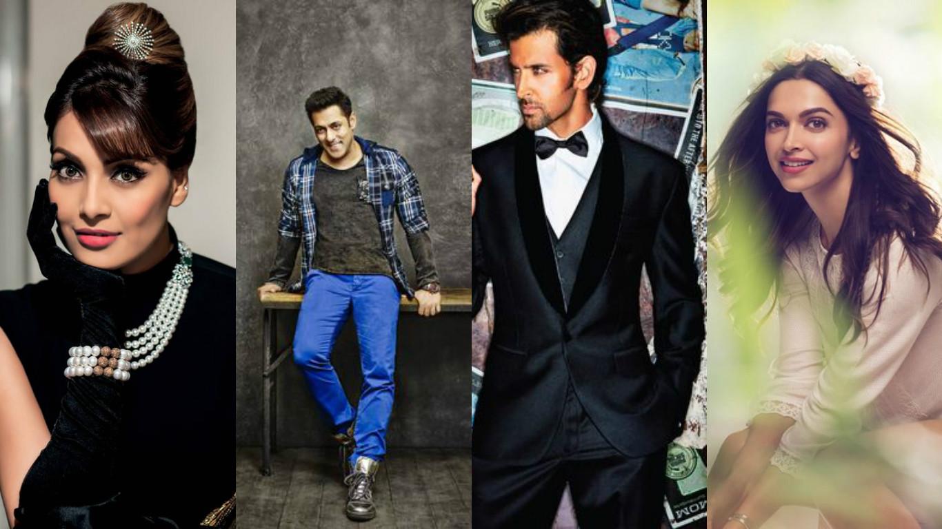 Capricorn - Bollywood Stars - Hrithik Roshan, Salman Khan, Deepika Padukone, Bipasha Basu