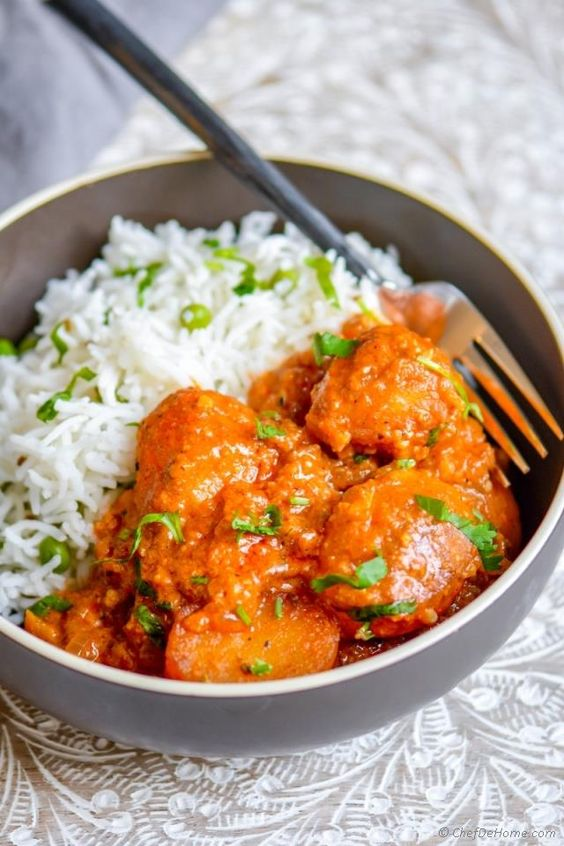 Indian Kashmiri Dum Aloo