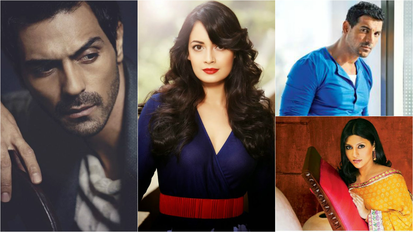Sagittarius bollywood actors = John Abraham, Arjun Rampal,Diya Mirza, Konkona Sen Sharma