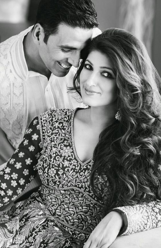 Real Life couple of B town- Akshay and Twinkle