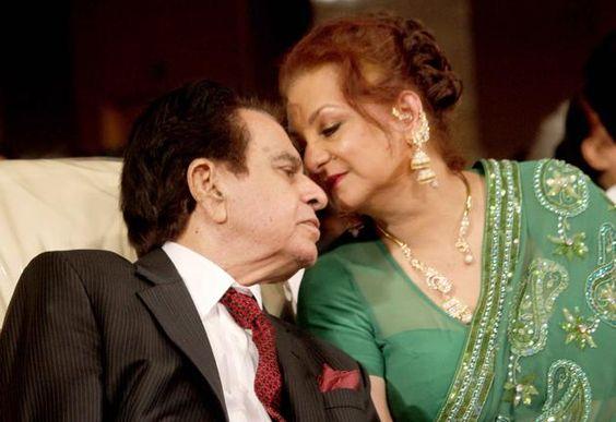 Real life couple of Bollywood Saira Banu and Dilip Kumar