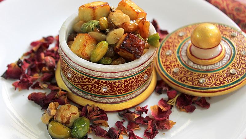 Shufta (spices dessert) Kashmiri Dish