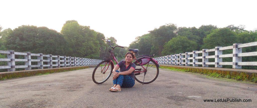 Travel log - Cycling In Kairali Resort , Kerala