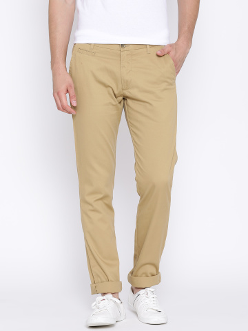 Arrow-Sport-Khaki-Chrysler-Fit-Trousers-Fashion Essentials from Arrow