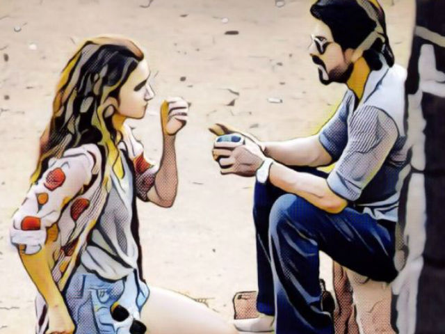 A Prisma Look at Shah Rukh Khan and Alia Bhatt's Dear Zindagi
