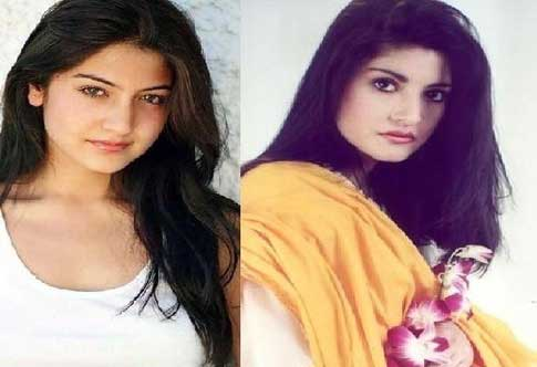 Anushka Sharma and her look alike