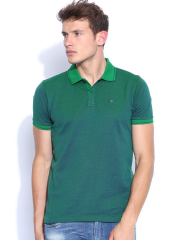 Arrow-Sport-Green--Blue-Polo-T-shirt_ -Fashion Essentials from Arrow
