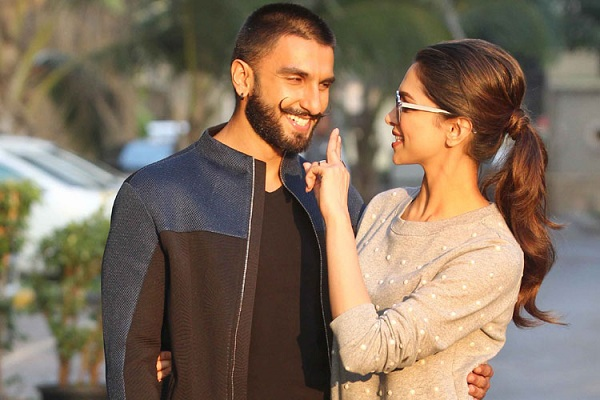 Deepika Padukone and Ranveer Singh in Love