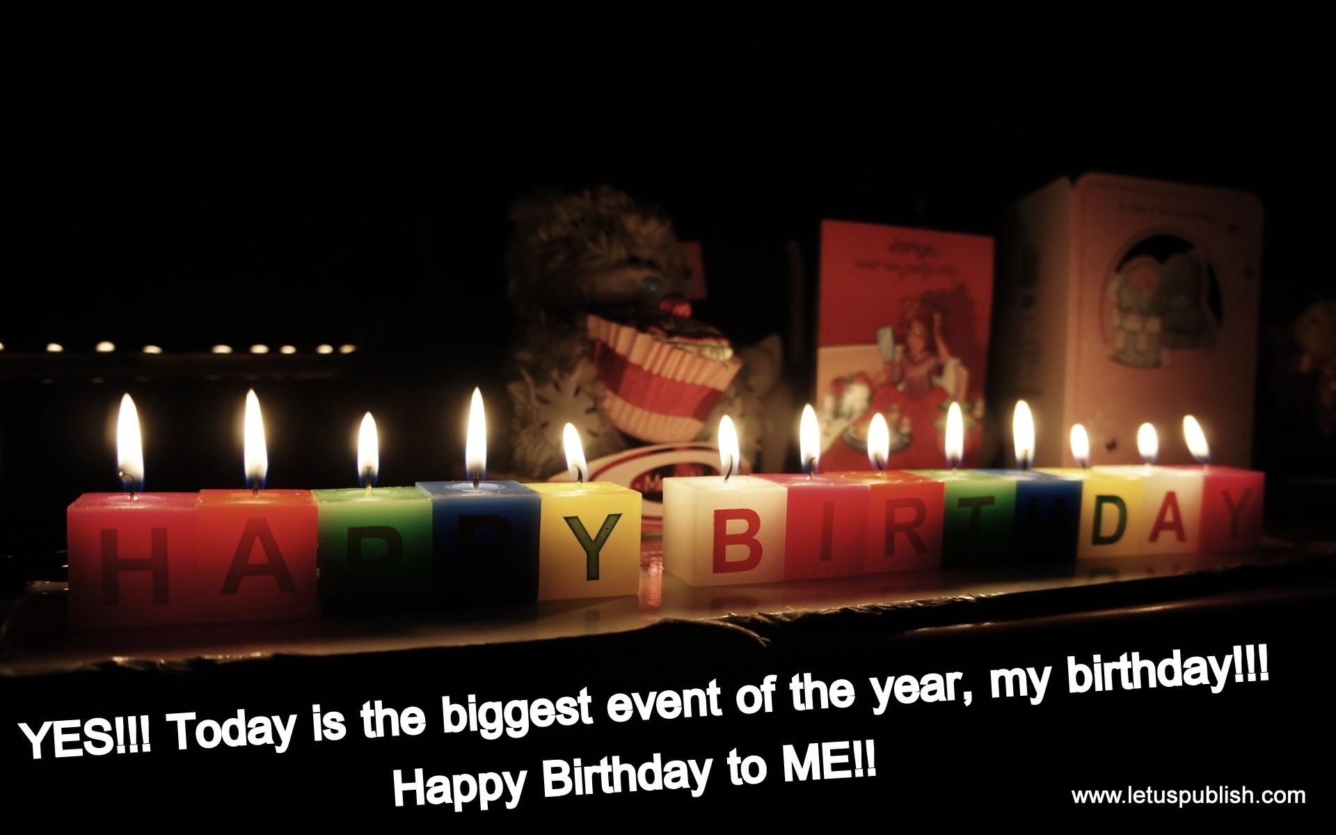 Happy birthday to me memorable quotes