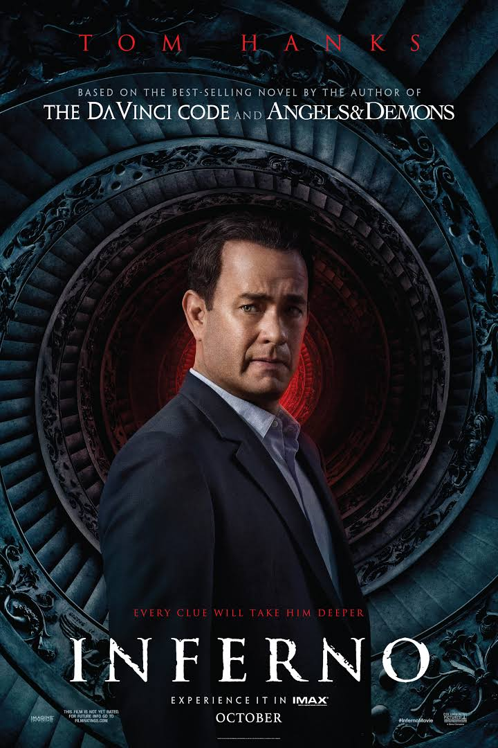 Inferno in Cinemas from 14th Oct
