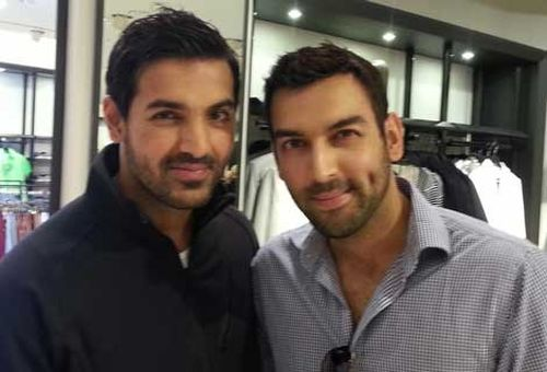John Abraham and his look alike