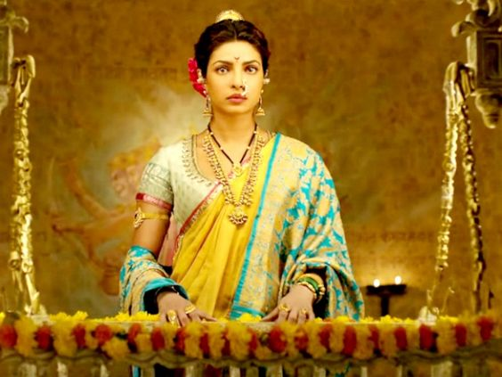 Priyanka Chopra as Kasi Bai in Bajirao Mastani