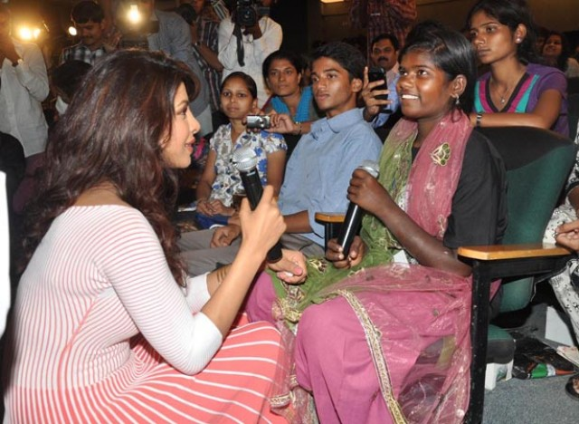 Priyanka Chopra has been raising her voice towards the betterment of the girl child.