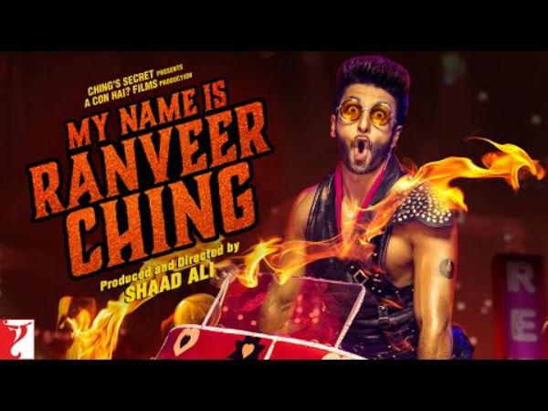 Ranveer Ching Poster