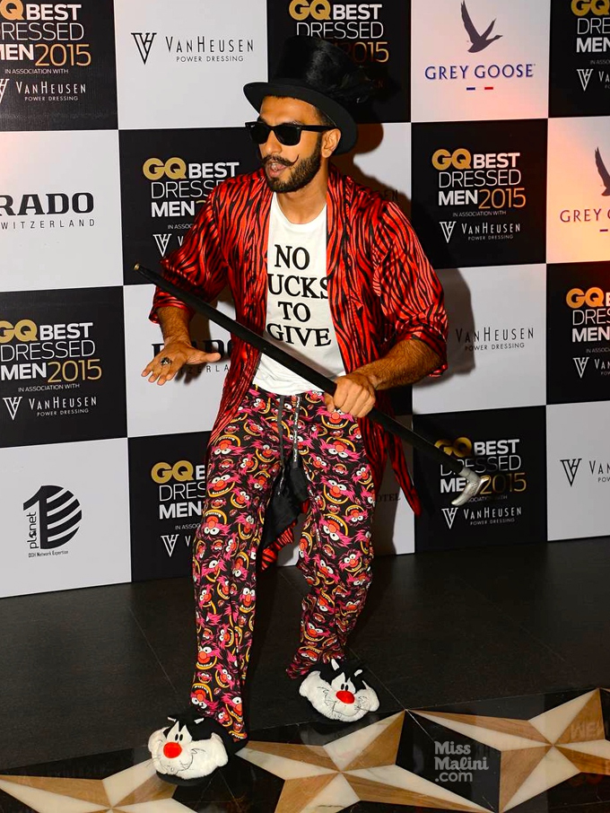 Ranveer Singh Out of the box dressing sense