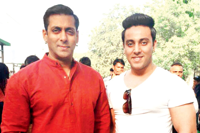 Salman Khan and his look alike
