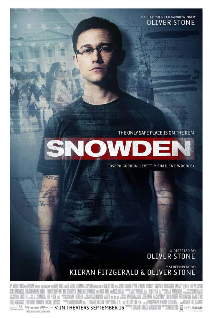 Snowden releasing 16 Sep 2016