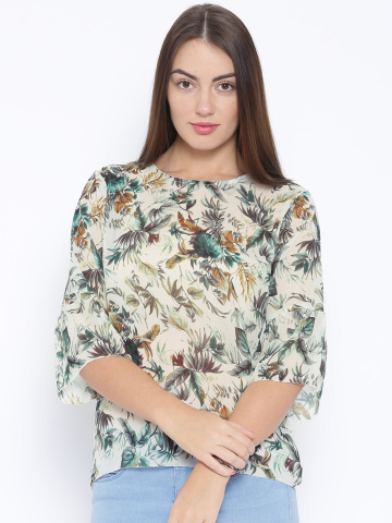 floral print top - Fashion Essentials from Arrow To Nail Your Look Like A Boss