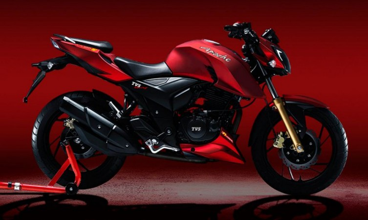 TVS Apache RTR 200 4V - Best Bikes under Rs 1.5 Lakhs