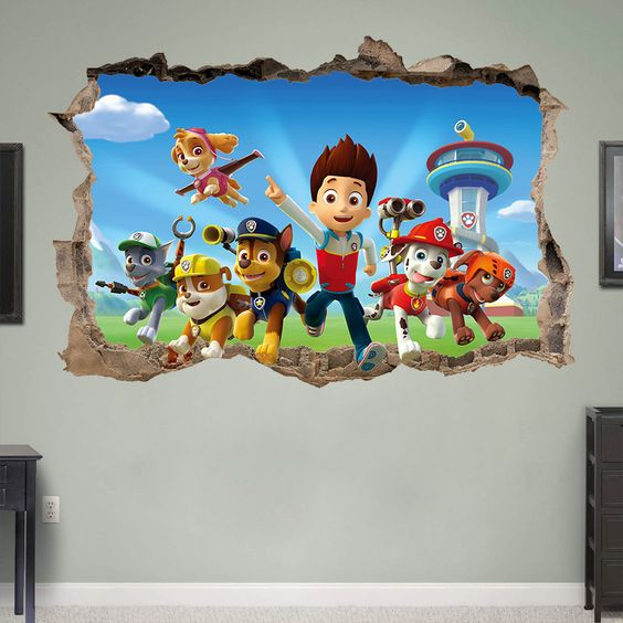 3d wall art for kids room
