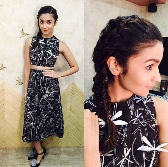Alia Bhatt braid fashion