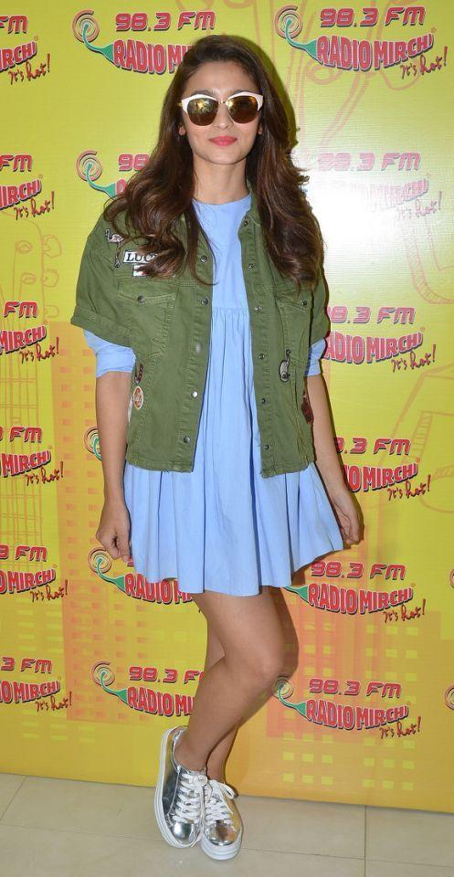 Alia Bhatt in casual look