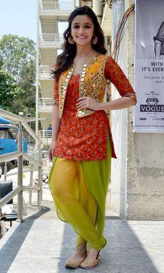 Alia Bhatt in ethnic look