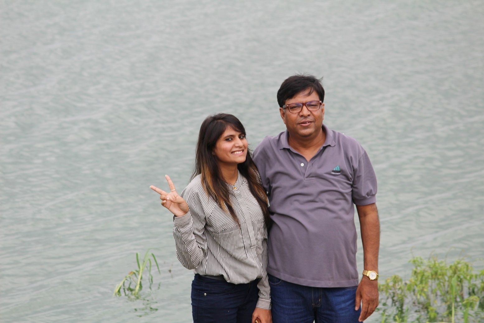 BHRTI HOME DÉCOR BY AKSHYA AGARWAL With dad